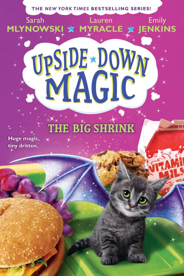 A Magical Month Indeed! - -UPSIDE-DOWN MAGIC is coming to the small screen! Disney Channel announced casting and the start of production on this fantastic adaptation.-Scholastic purchased the next book in the series, bringing the total to eight!