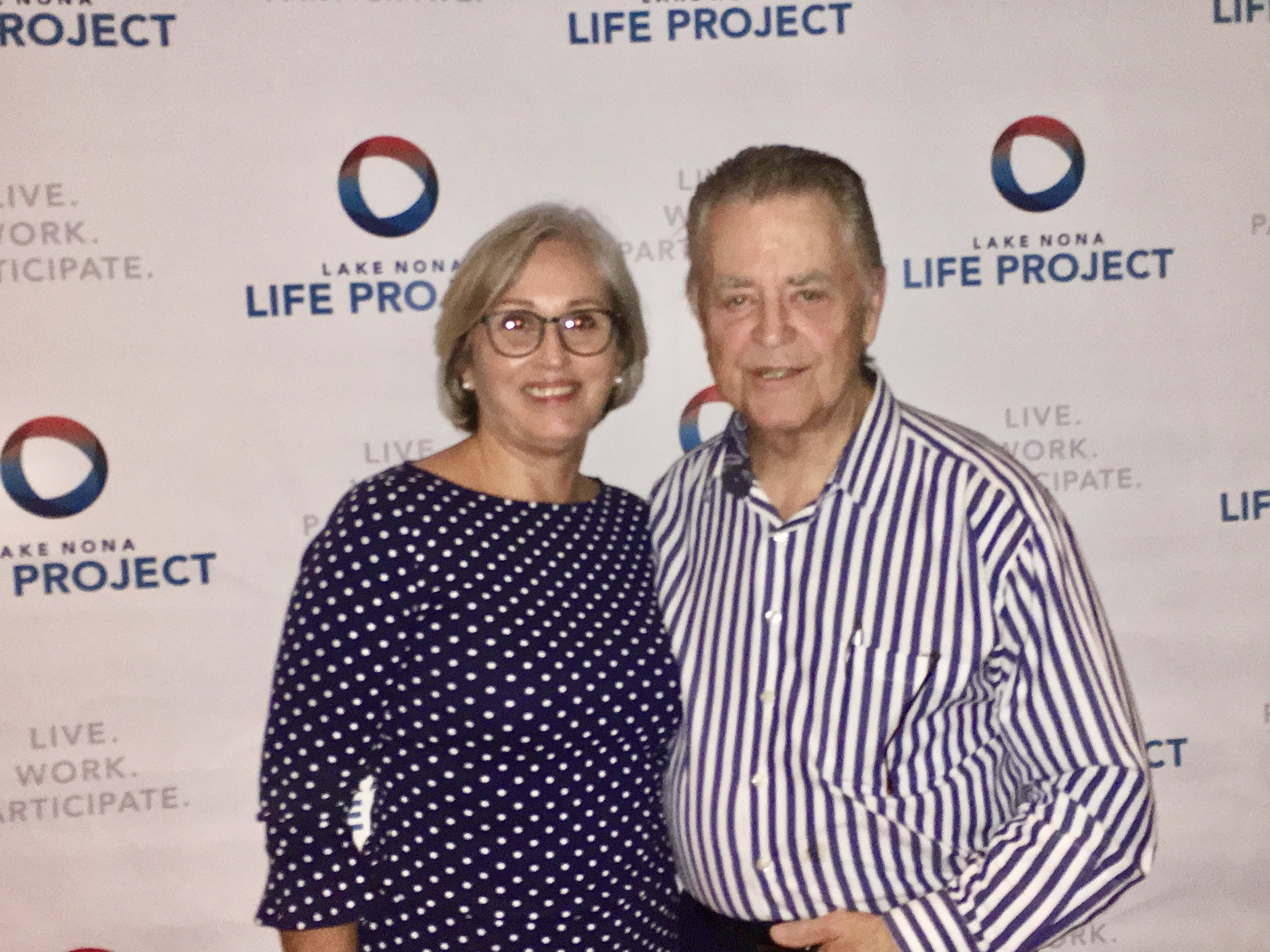 Life Project Champs Harrison & Claudia Greene at Champ event