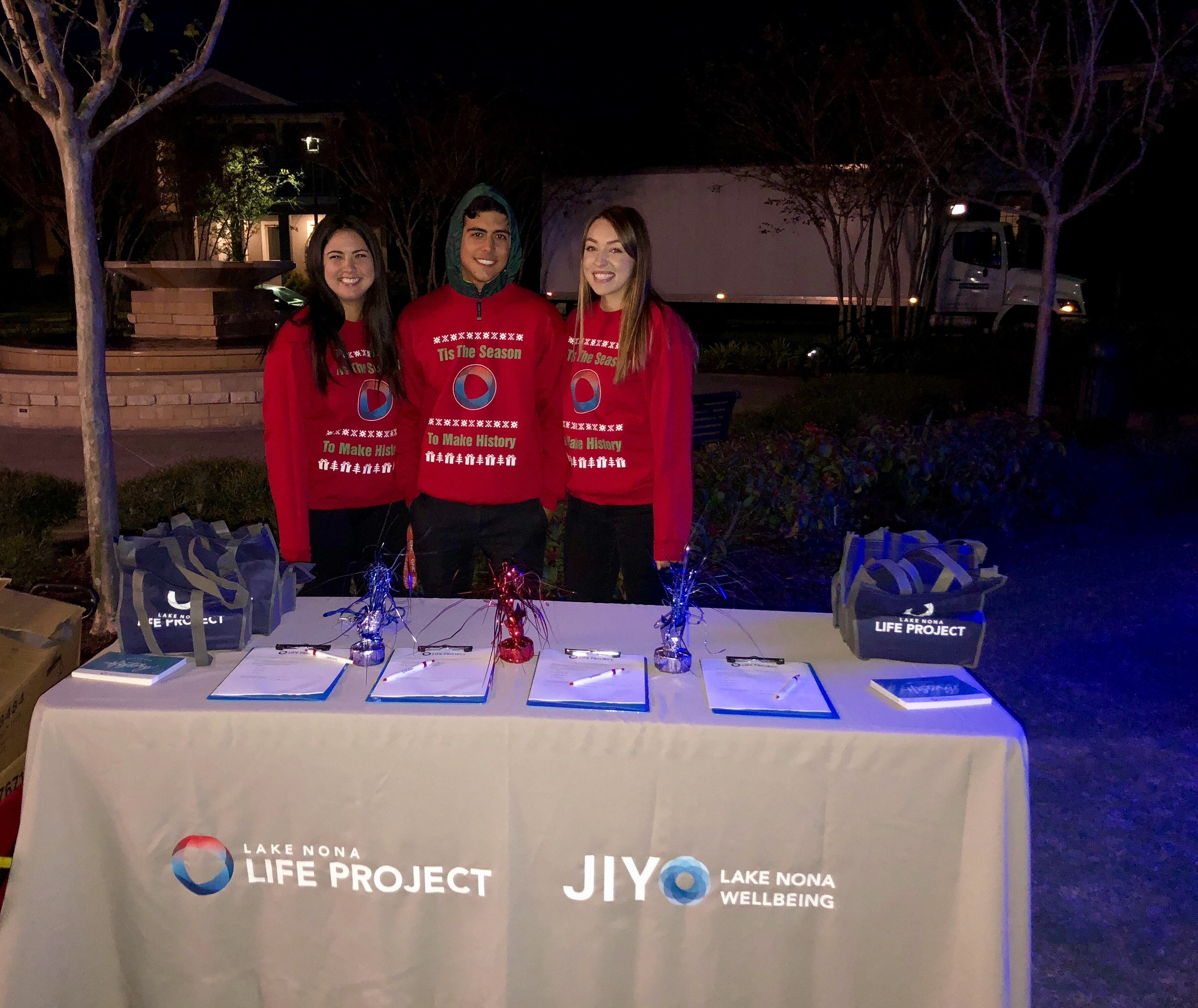 Life Project Research Assistants at Lake Nona's Live & Local event