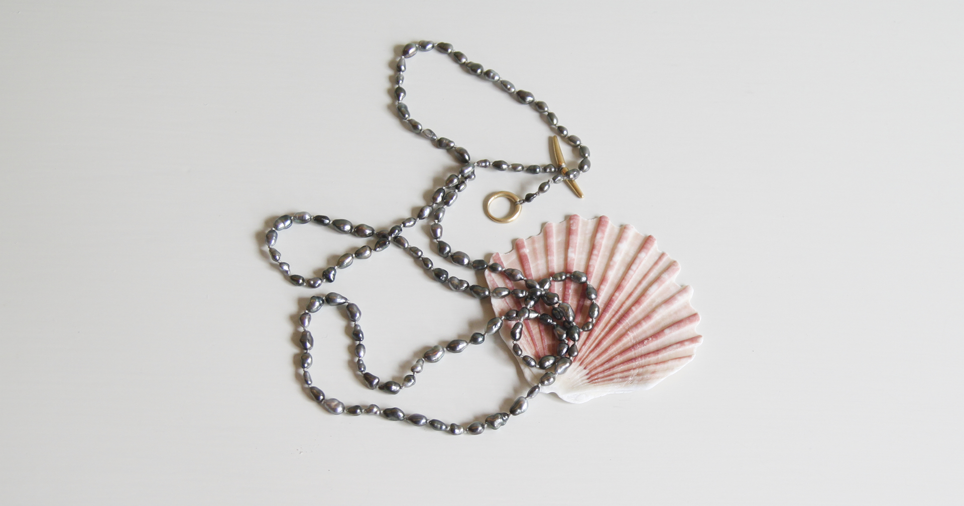 Tahitian Keshi Pearl Necklace