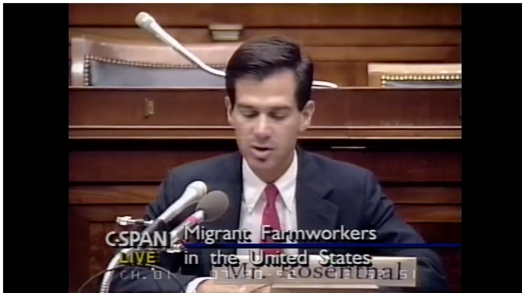 Migrant Legal protections & Working Conditions July 20, 1992