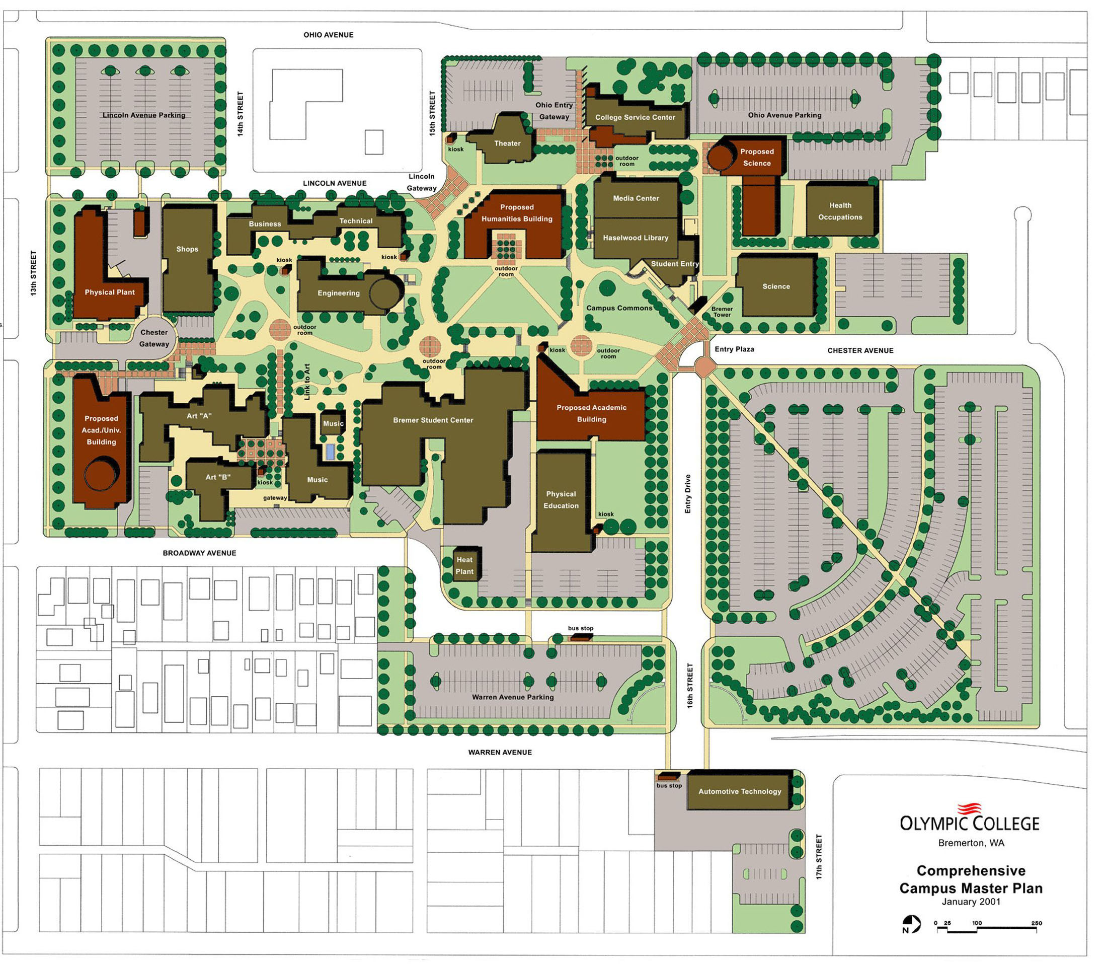 OC Ten-Year Campus Master Plan