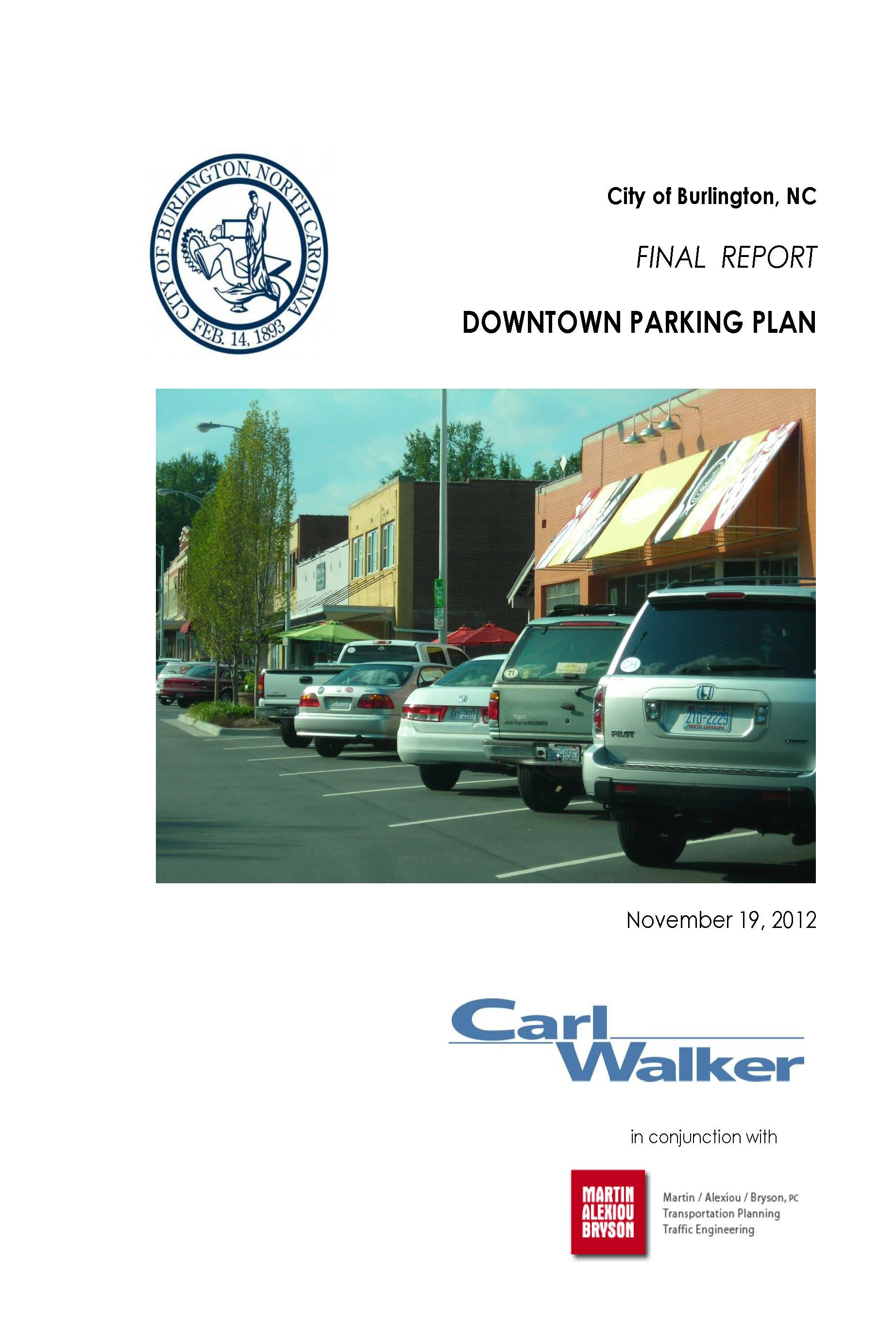 Cover Burlington v.22 FINAL Report 11-19-12_2012.jpg