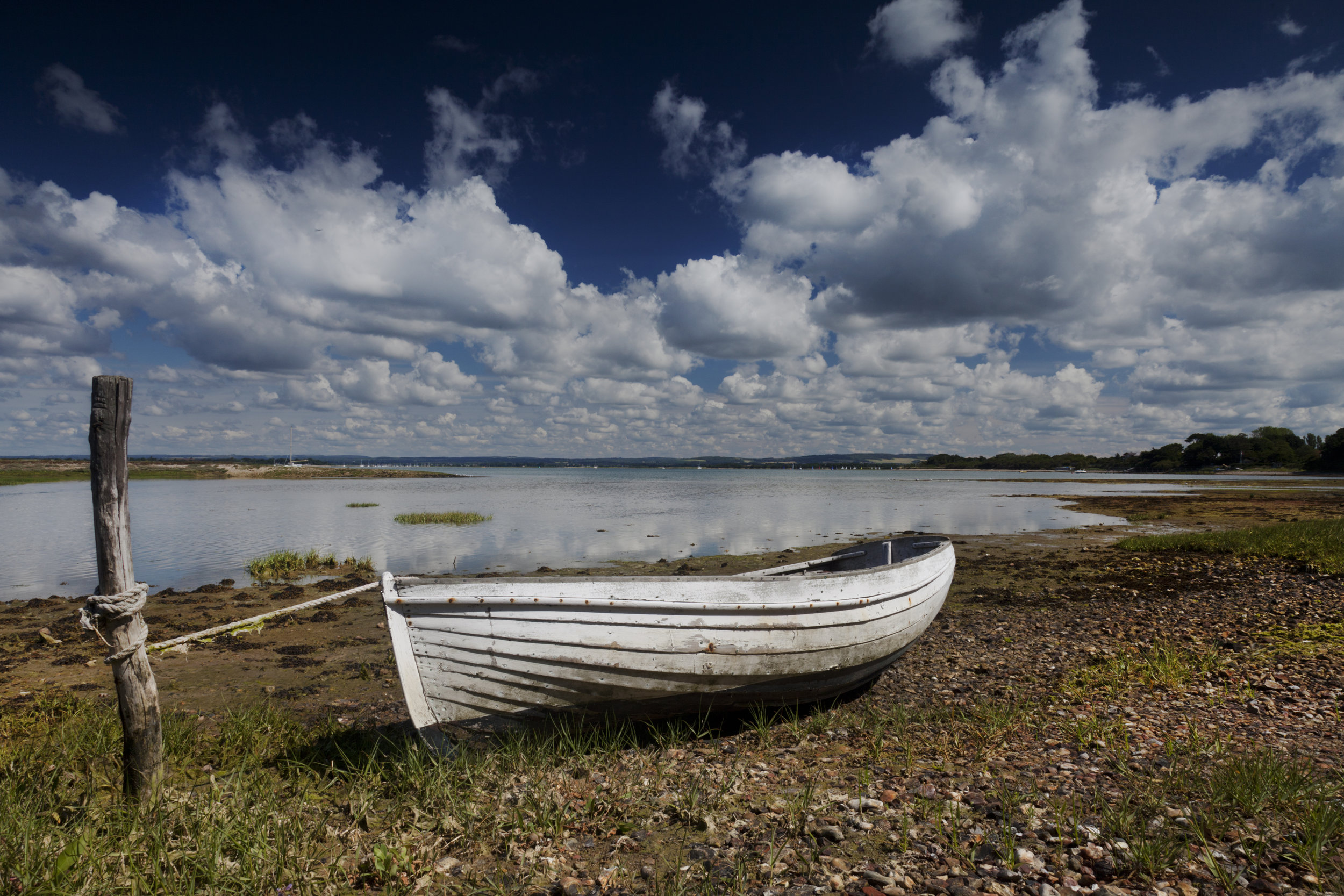 Old boat, Chichester harbour