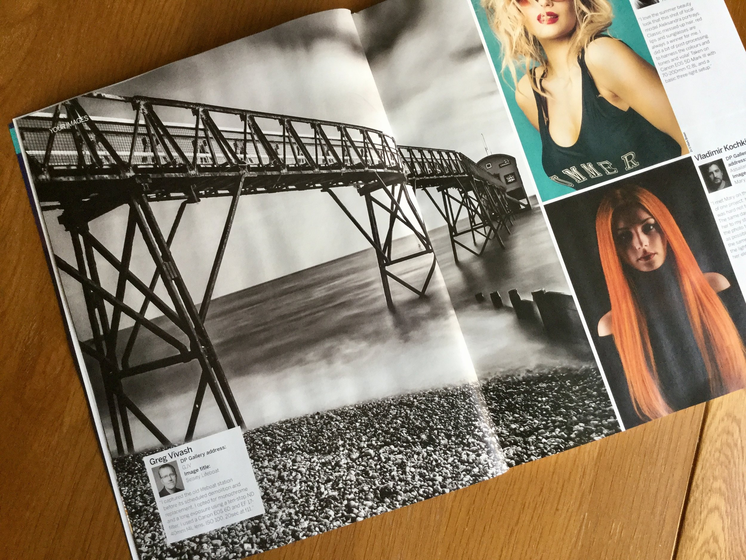 Selsey lifeboat station printed in Digital Photographer Magazine September 2017 © Greg Vivash