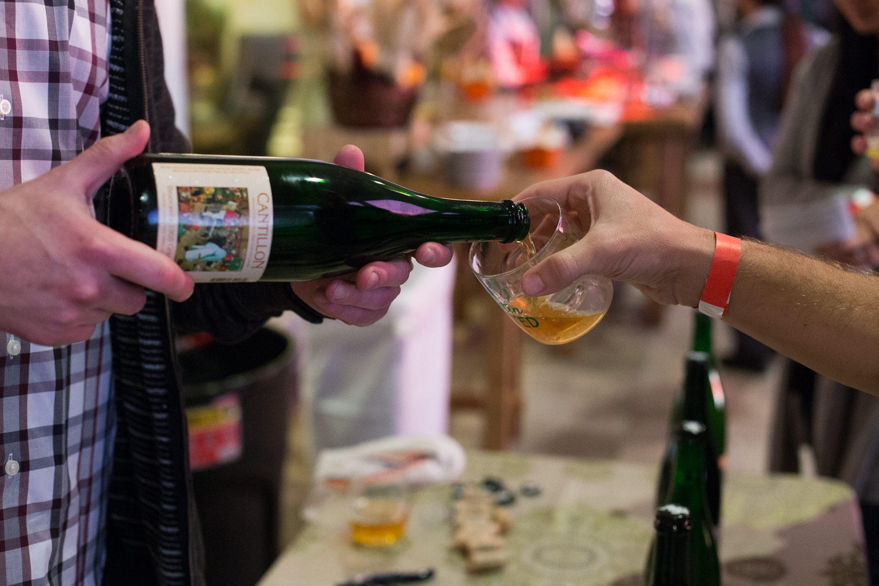 Cantillon at VIP event