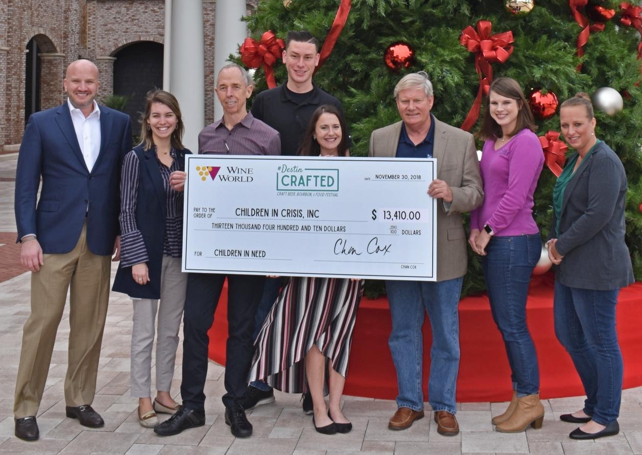 Destin Crafted raises money for Children in Crisis