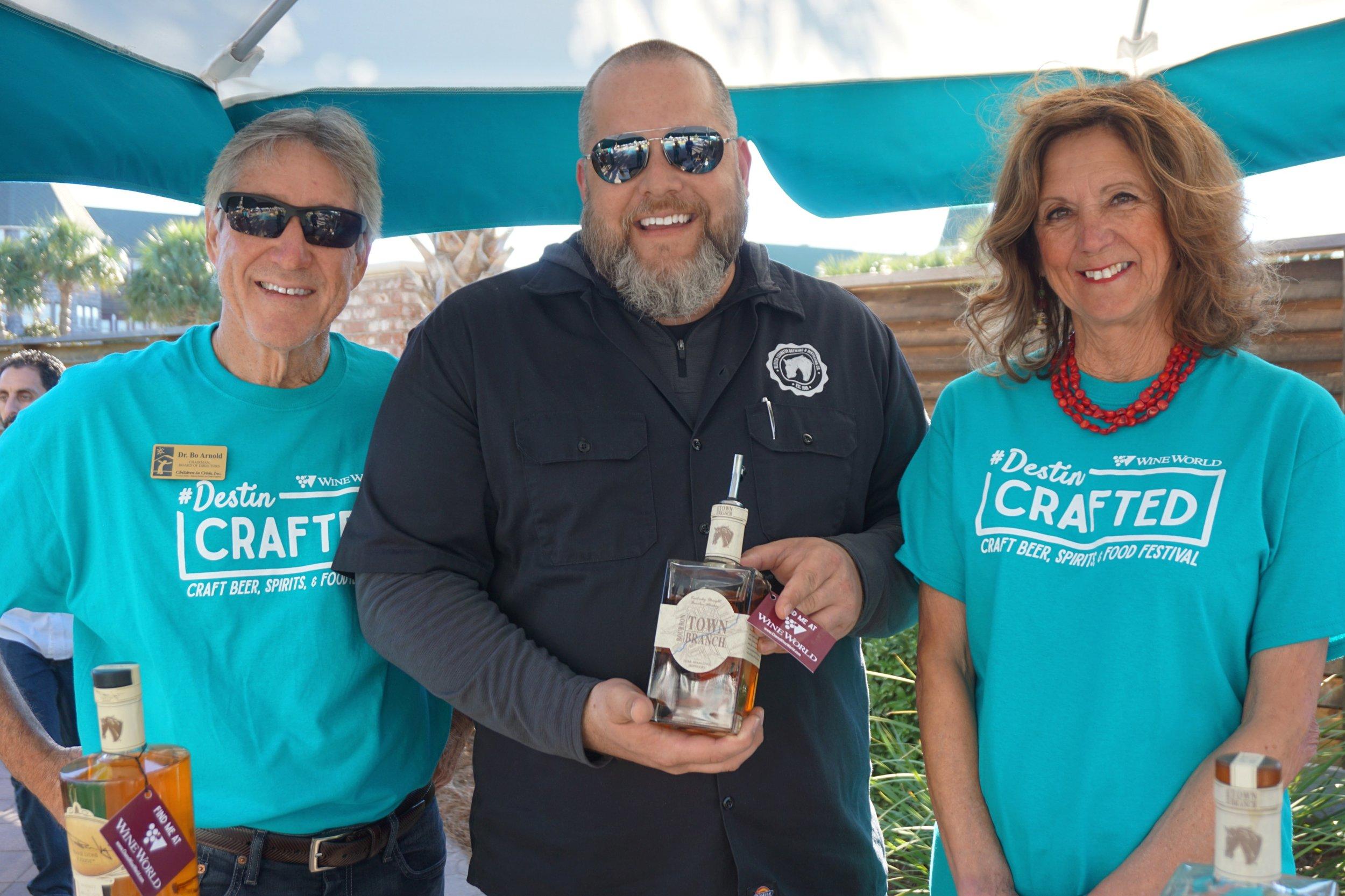 Destin Crafted Beer Festival Bourbon Festival Fundraising Sponsor