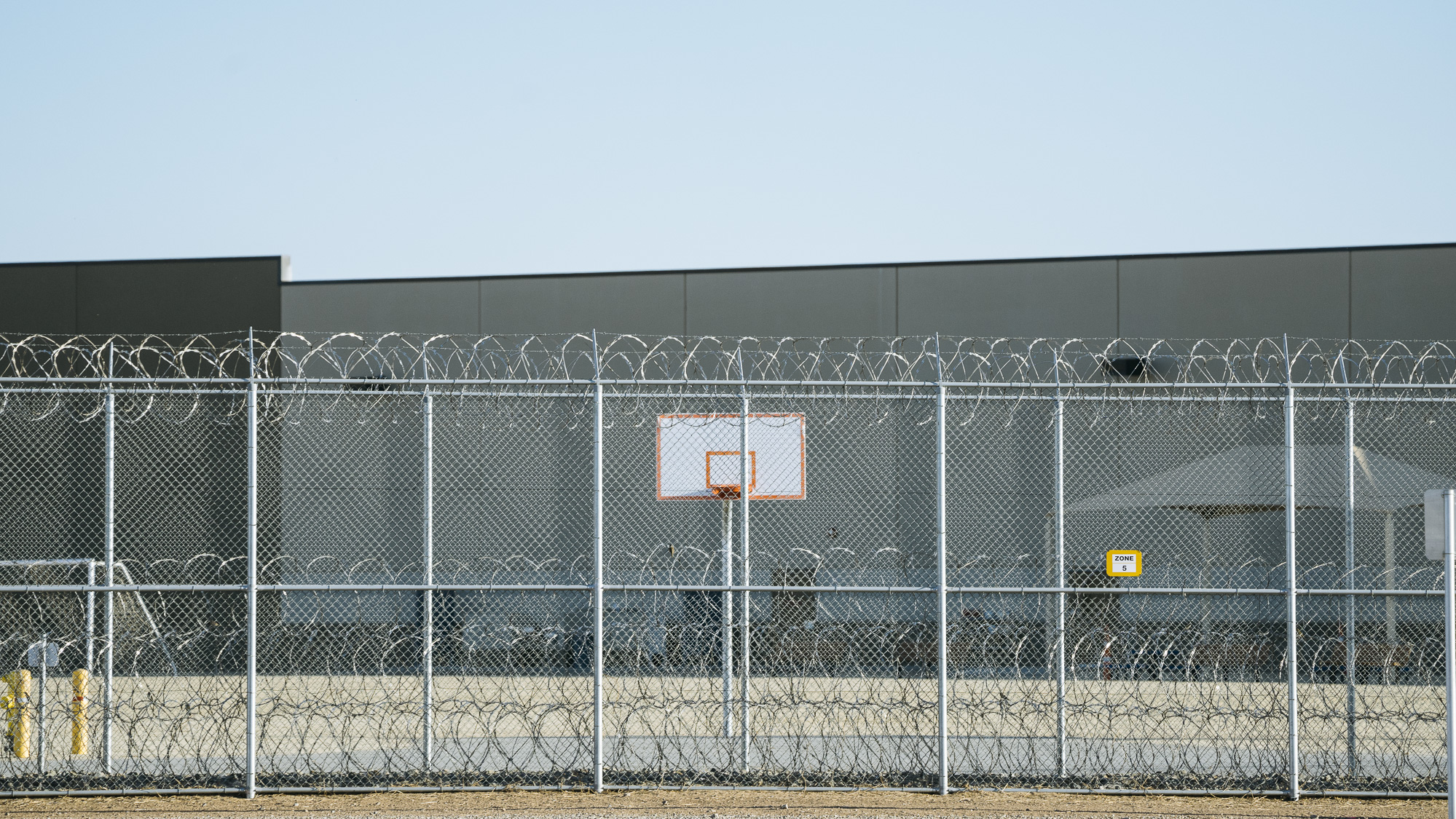 IMAGE CAPTION:  Imperial Regional Detention Facility in Calexico, California, is an ICE facility operated and owned by the private prison contractor CoreCivic (formerly Corrections Corporation of America).CCA's revenues in 2015 were $1.79bn.