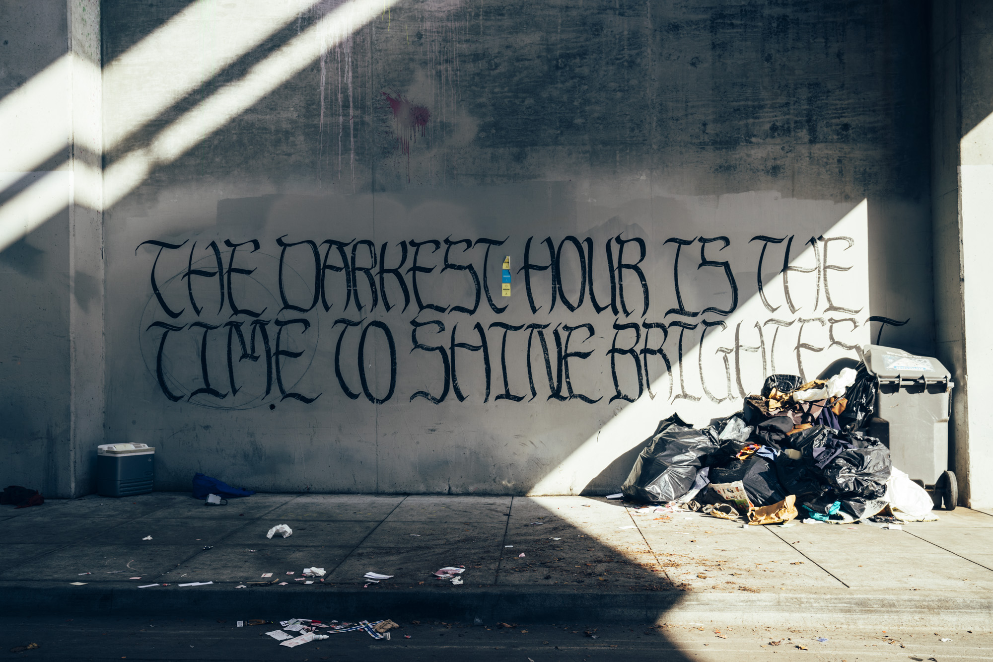 Street Sigil, Oakland, CA 2018 - Taliesin Gilkes-Bower