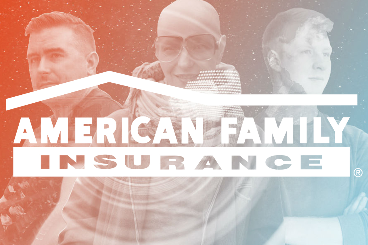 """Creative Director for American Family Insurance campaign """"Fearless Dreamers."""""""