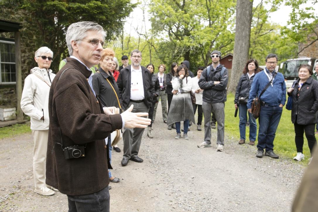 William Whitaker leads a Farmhouse Tour