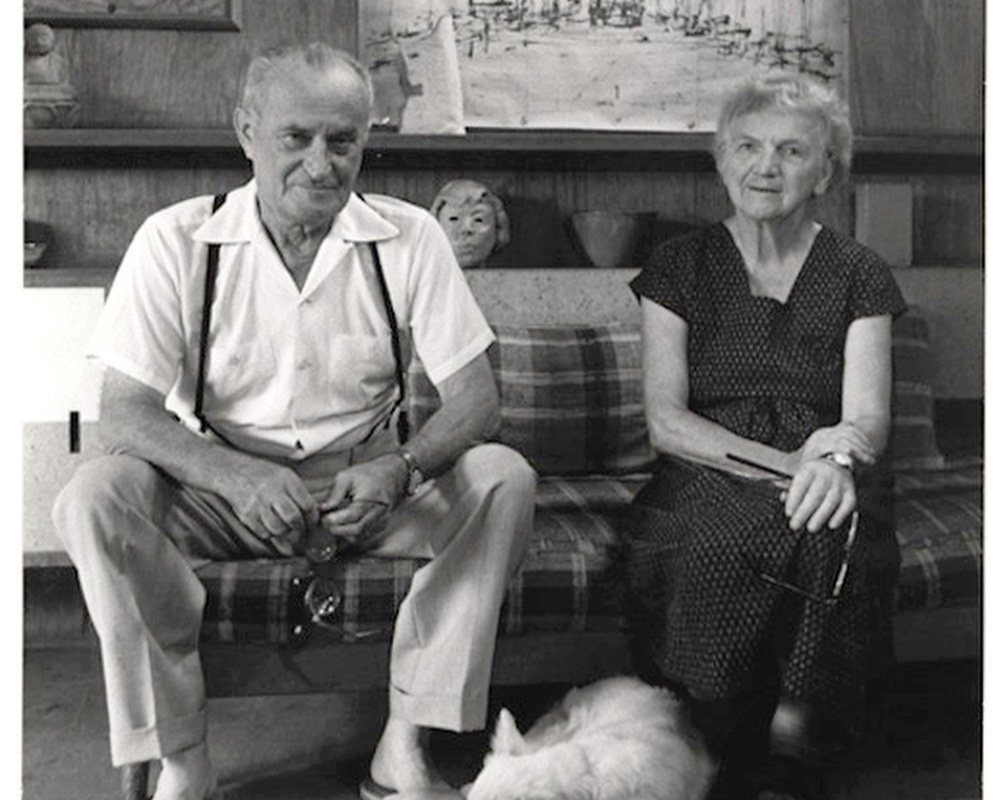 Our History - Learn about the lives of Czech-American architect, Antonin Raymond, and French-American artist and designer, Noémi Raymond, before they settled in New Hope, PA, and their impact on modern architecture and design in the early to mid-twentieth century.