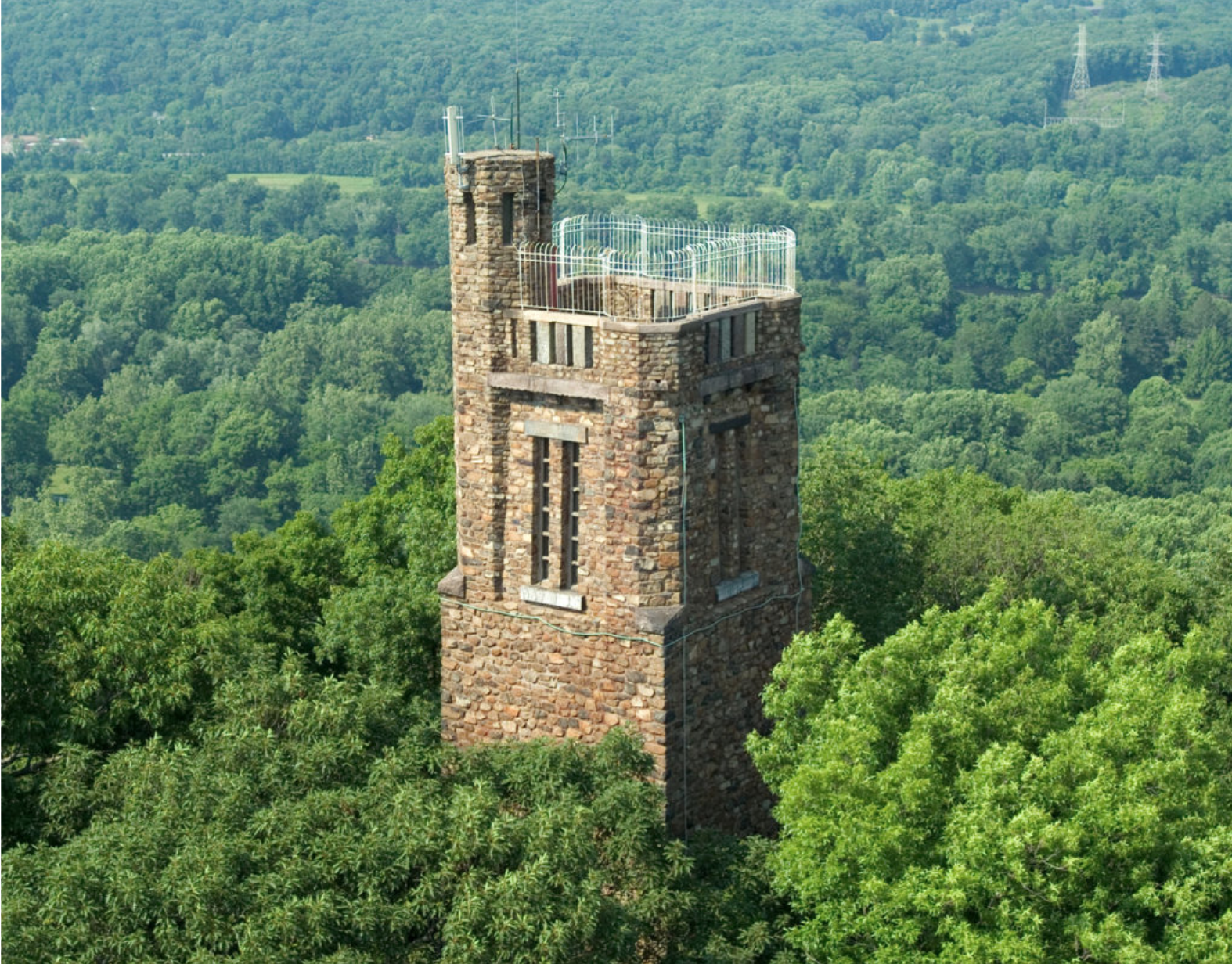 Bowman's Hill Tower -