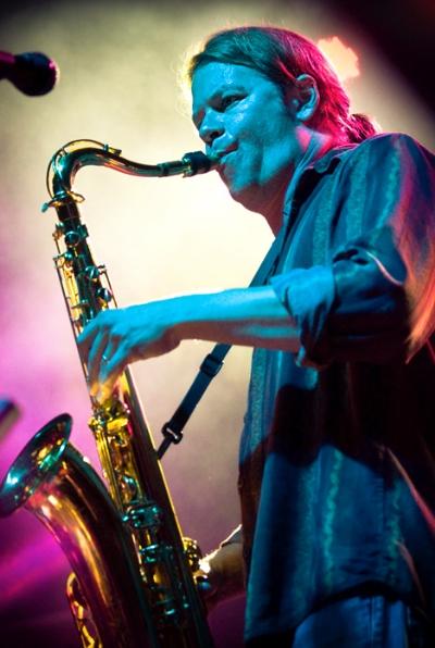 Producer/engineer/saxophonist/best buddy Dan Myers