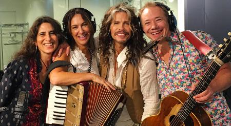 Liz, Claudia, Steven and Brady at SiriusXM Studios NYC, 6/24/16