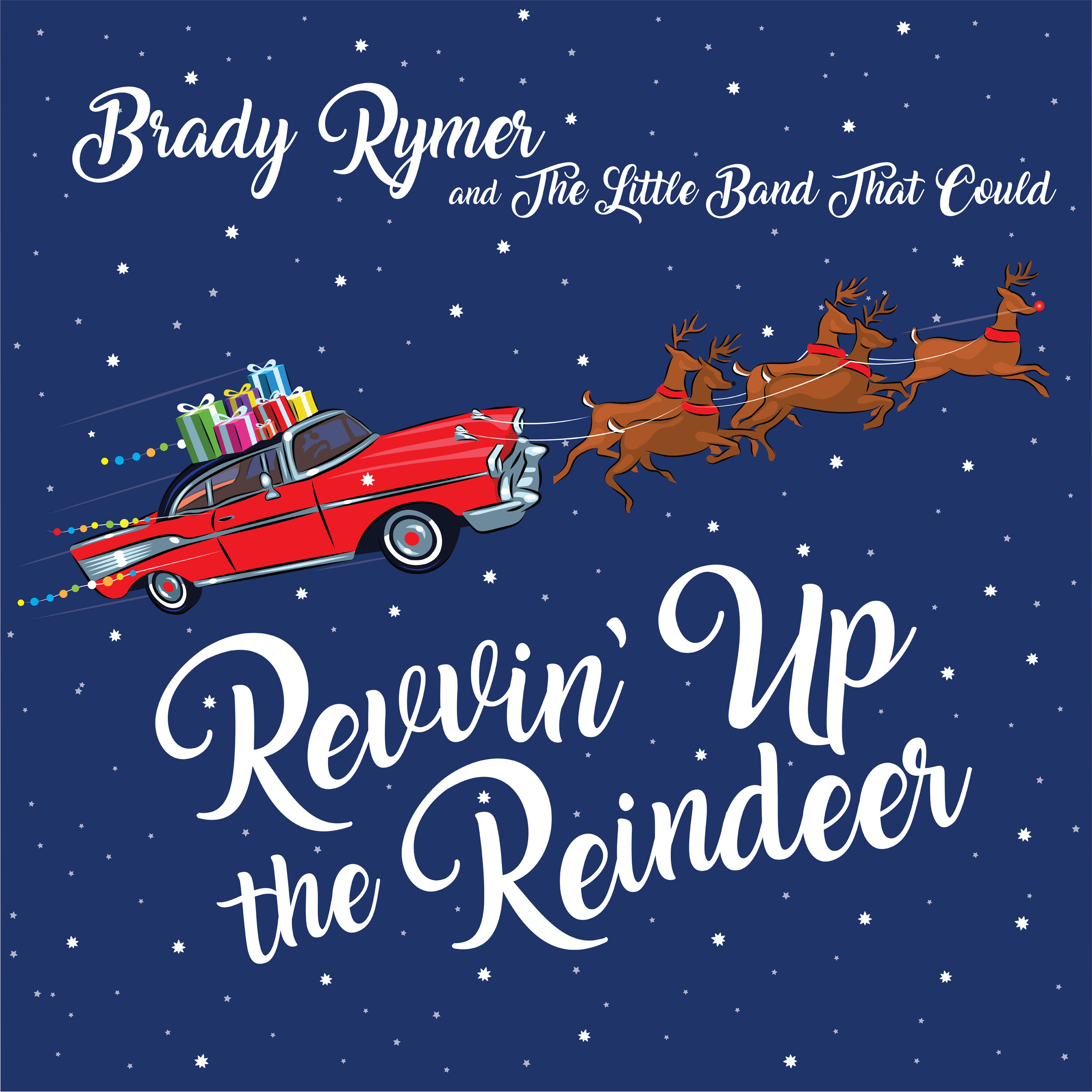 """IT'S THE ROWDY ROOTS-ROCK that we've come to know and love from Brady, sprinkled with a little tinsel and holly."""" ~ Kenny Curtis, SiriusXM Satellite Radio    THE BEST HOLIDAY ALBUM I'VE EVER HEARD! It pushed all of the holiday idioms aside -- it's fresh and it's hot.   ~ Paul Butler, Kids Crossroads Radio     A FEEL-GOOD, ADDICTIVE AND MELODIC TREAT,     this fun collection of upbeat Christmas songs is one for the entire family to enjoy. ~ iTunes reviewer     Whether you celebrate Christmas, Chanukah, or Kwanzaa, Rymer has you covered in this ECLECTIC, INCLUSIVE, MODERN HOLIDAY ROMP. ~  Cherry Blossoms the Blog     Brady Rymer's new holiday tunes release gives the most wonderful time of the year a brand new glow from the North Star, right into your living room with a set of rock and roll music, that while all about the holiday flair, is A FUN LISTEN MOST ANYTIME OF THE YEAR. ~  Family Music n' Arts"""