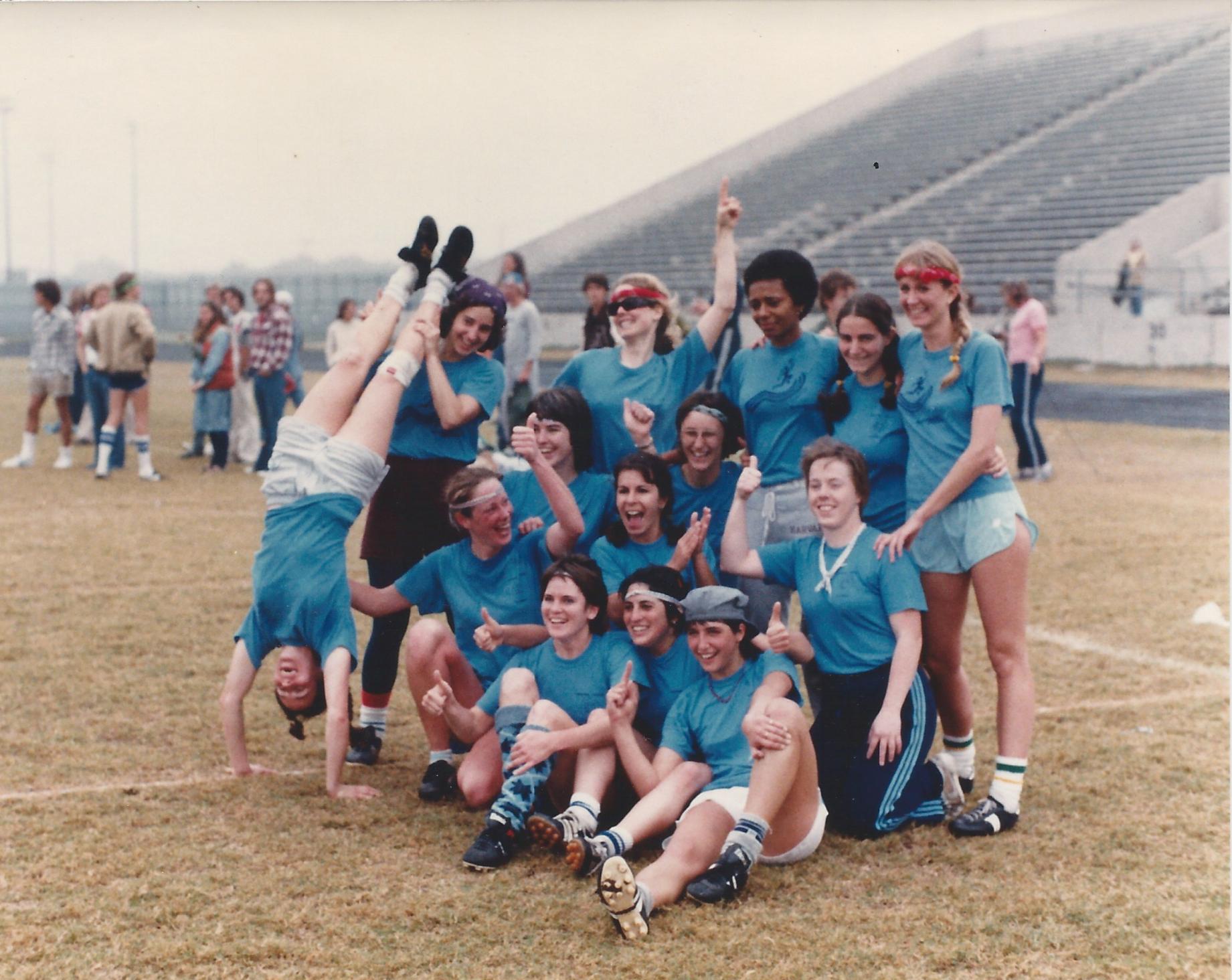 BLU (Boston Ladies Ultimate) winning National Championship in NOLA 1981