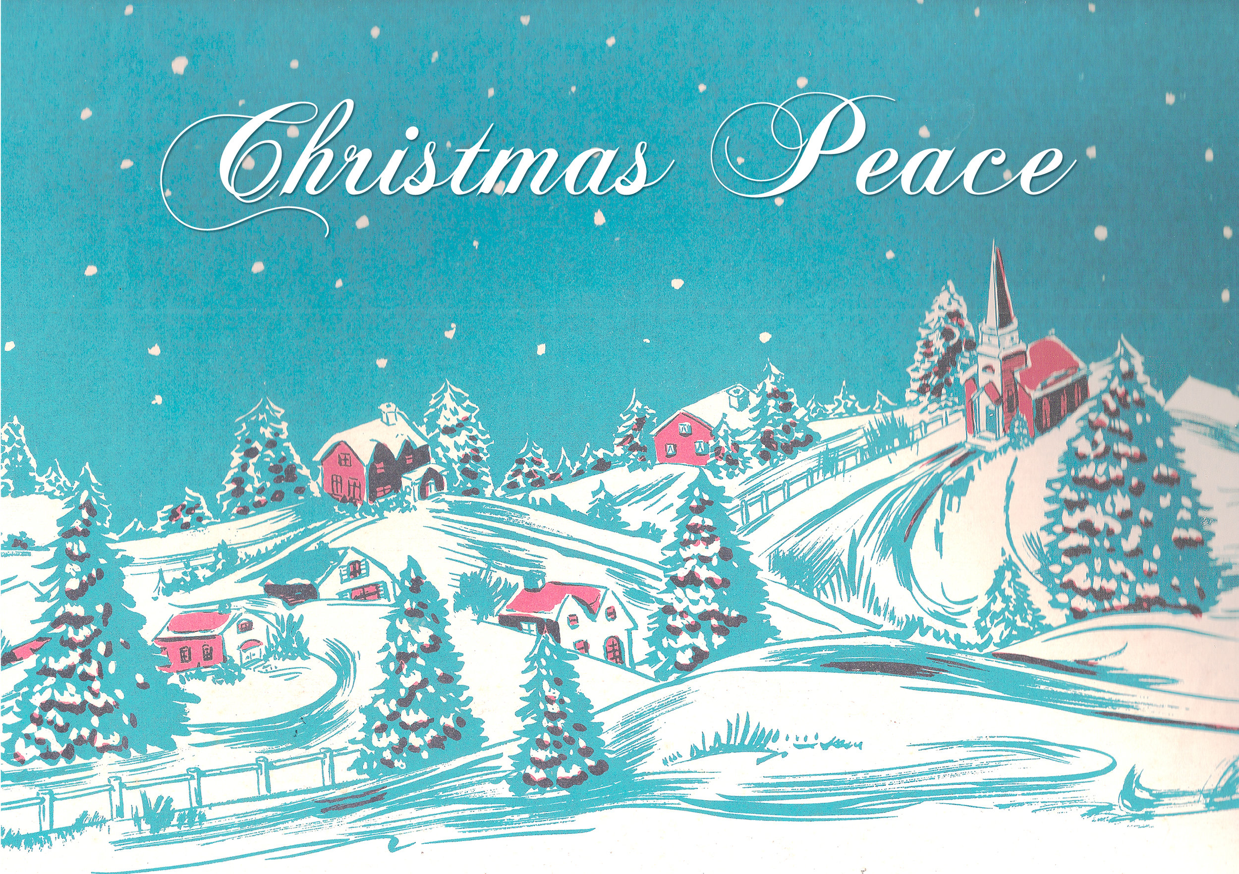 """""""Christmas Peace"""" featuring Seth Farber on organ and piano."""