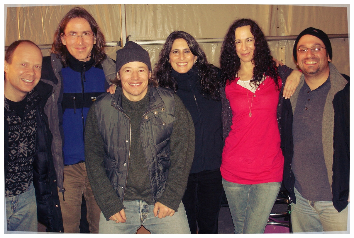 The Little Band That Could, 2006, Steamboat Springs, CO. Seth Farber, Jeff Allen, Brady Rymer, Liz Queler, Claudia Mussen, Chris Roselli