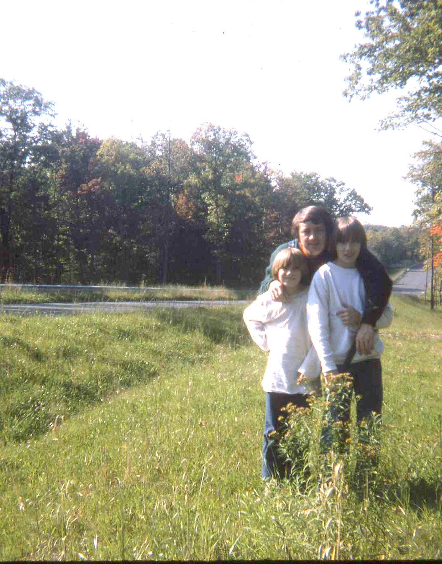 My Dad & his two boys ~ Sparta, NJ 1975 or so...