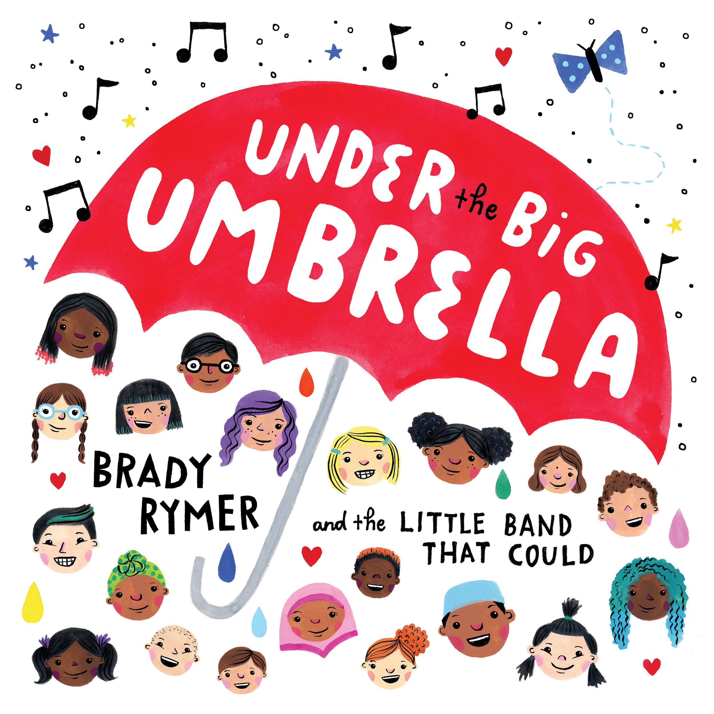 Emily's  Under the Big Umbrella  album cover.
