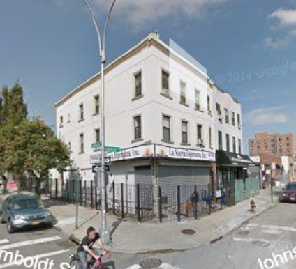 211 JOHNSON AVE, BK    $11,500,000 (PACKAGE)    Detached studio apartment, 5 bedroom house.