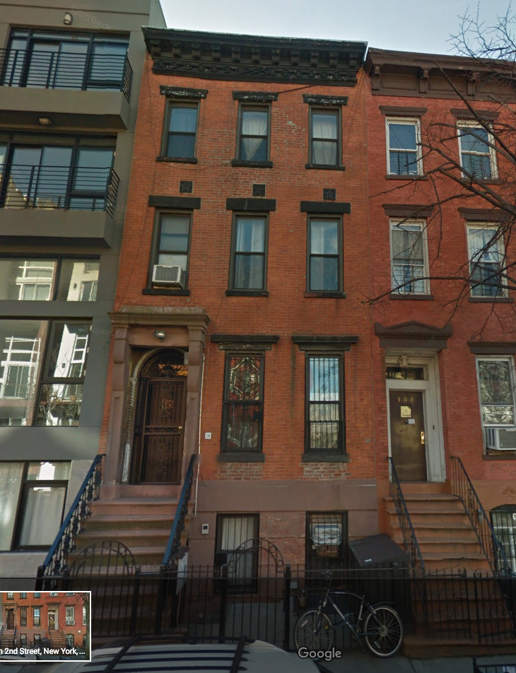 110 SOUTH 2ND ST, BK    $11,500,000 (PACKAGE)    3-story building plus parlor floor with garden. 4 residential units