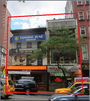 297 3RD AVE, NY    $25,000,000 (PACKAGE)    2 contiguous three-story taxpayer with 8 retail tenants