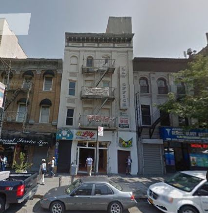 1877 WEBSTER AVE, BRONX    $1,680,000    4-story office and retail building and encompasses 7,832 sq ft.
