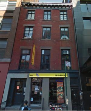 133 WEST 3RD STREET, NY    $8,850,000    4 story walk-up & one 3 story rear walk-up mixed use