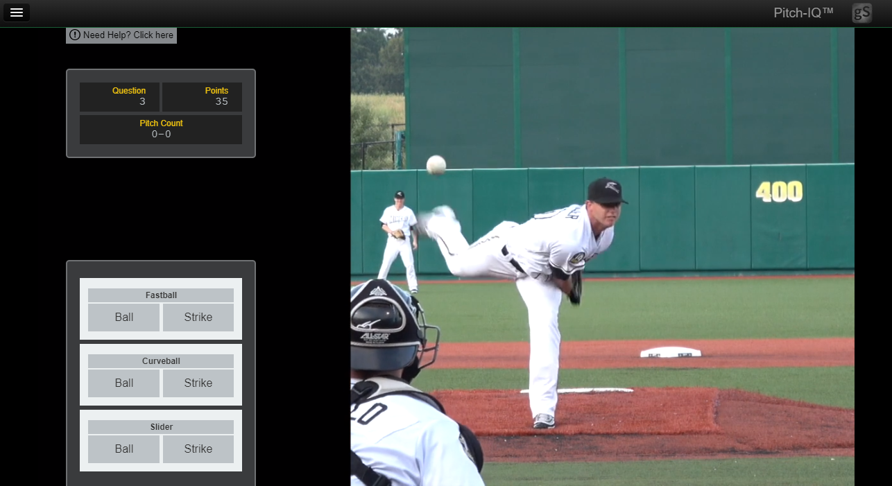 baseball reaction time pitch recognition
