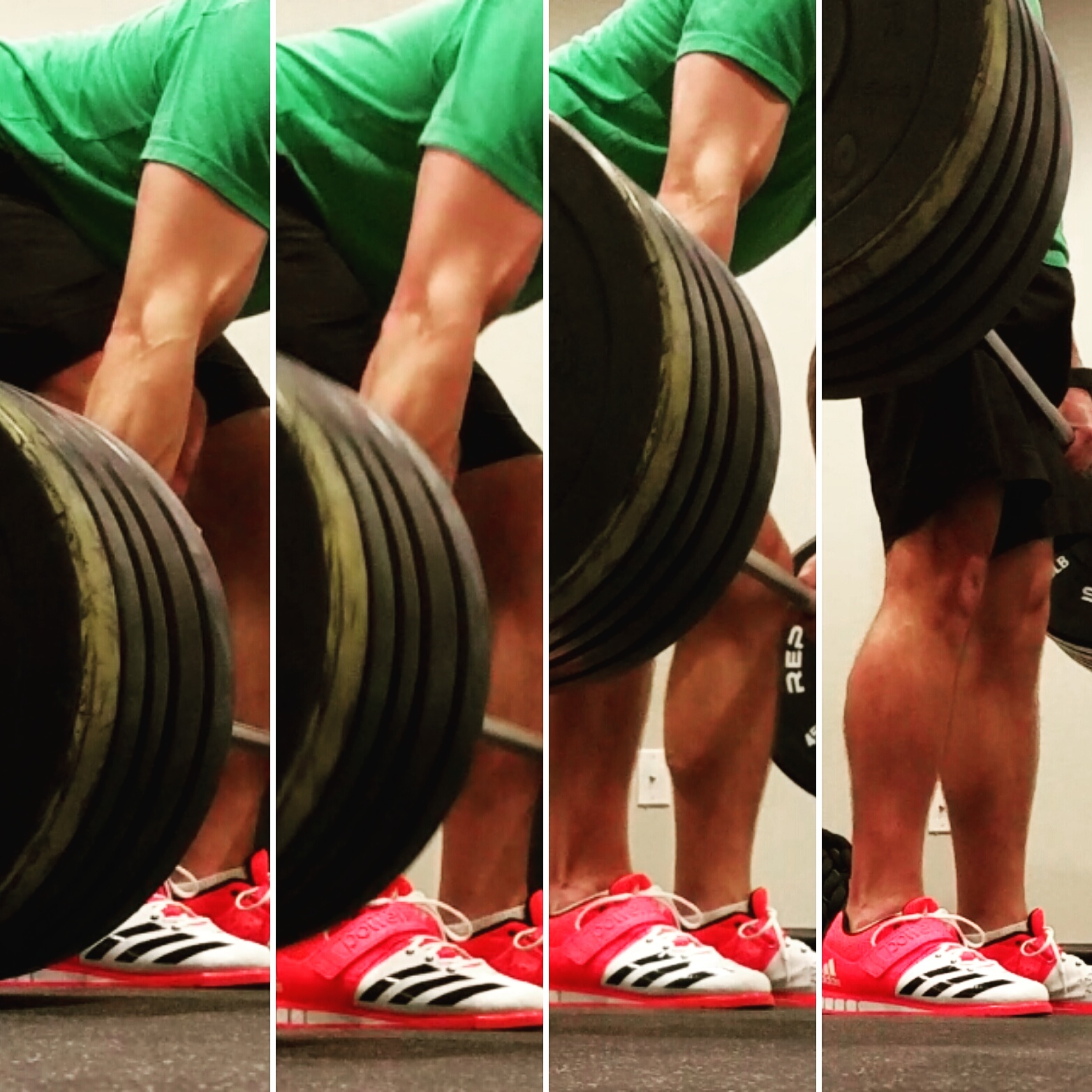 Deadlifts are a nice way to build up those hamstrings.