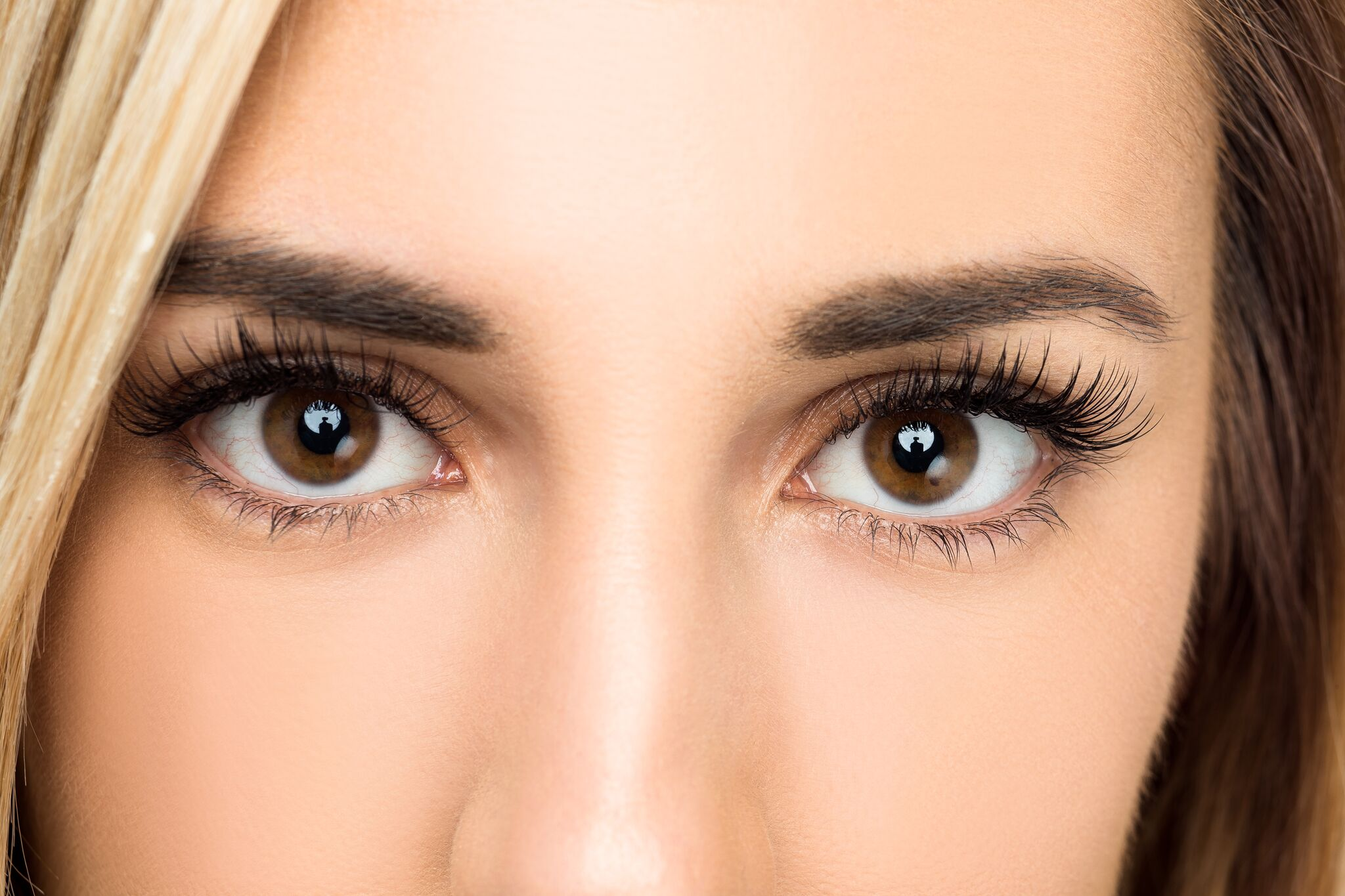 """RESULTS   Similar to natural lashes, our extensions are light and soft, resulting in eyelashes that enhance your eyes without looking """"plastic"""" or """"fake"""". This is a 'Full Classic Set' and took 1.5 hours."""