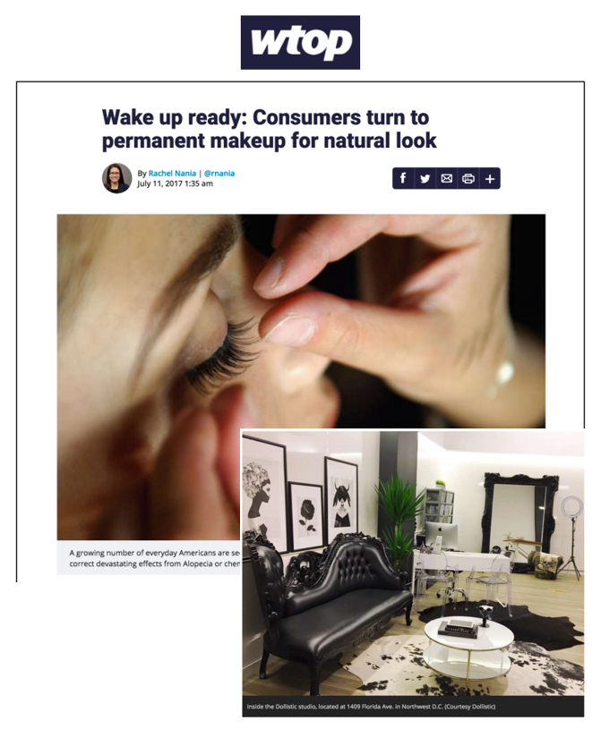 Wake up ready: Consumers turn to permanent makeup for natural look - https://wtop.com/life-style/2017/07/wake-up-ready-consumers-turn-to-permanent-makeup-for-natural-look/July 2017