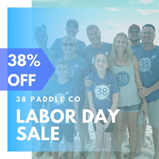 END OF SUMMER - LABOR DAY SALE 38% OFF ALL IN-STOCK MERCHANDISE Use Code : LABORDAY38 Aug. 30 - Sept. 30, 2019