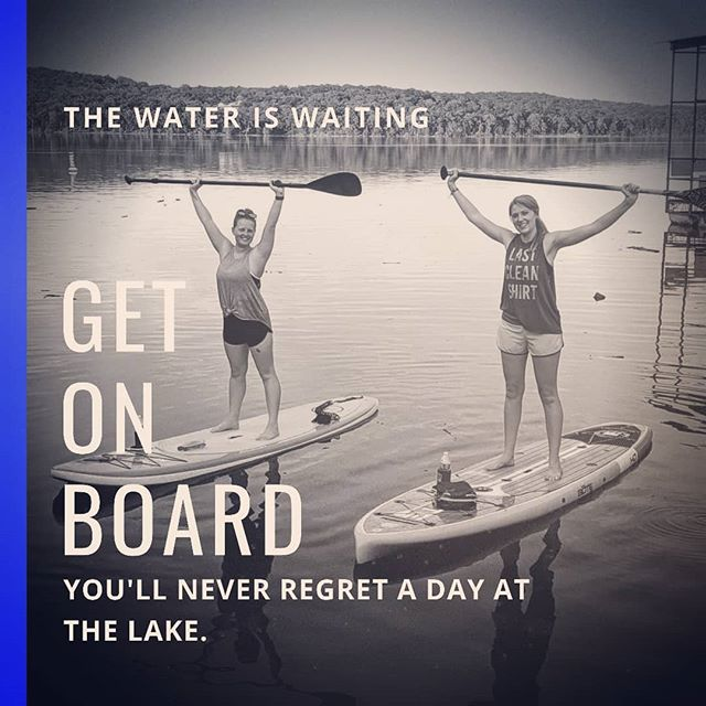We are open ALL WEEKEND AND MONDAY! Call now to reserve your spot on the water.  #lakelife #suplife #lakeallday #supallday #trystanduppaddleboarding #itseasy #getonboard #standuppaddle #supmo #standandpaddle #supbullshoals #sup #paddlefit #paddleboarding #paddleboard #paddledownyonder