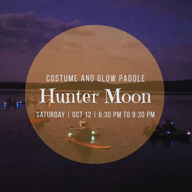 Do you have your costume ready? The Hunter Moon Float is the last Full Moon Float of the year - Get signed up today.  @dr.websteroboogie will be crooning on the dock and we can't wait!  #glowpaddle #fullmoon #fullmoonfloat #fullhuntermoon #huntermoon #costumepaddle #supallnight #lakeallnight #supbullshoals #sup #standuppaddle #paddleboarding #paddledownyonder #paddleunderthestars