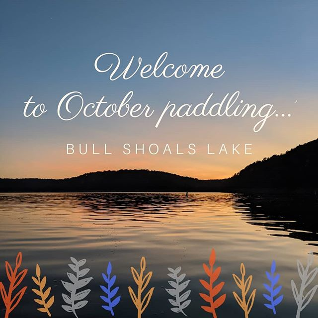 Fall is the best time to paddle in Missouri. Warm weather with a hint of fall breeze, gorgeous colors and glassy waters. Last night we heard a Great Horned Owl calling and spied him keeping a watchful eye over the treeline.  Schedule an excursion with us before this magical season passes you by.  Private message for more information.  #october #falliscoming #autumn #fallpaddling #lakelife #suplife #paddleboarding #standuppaddle #paddledownyonder