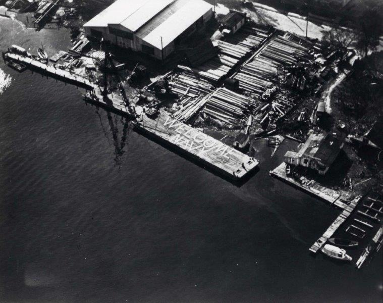 Elizabeth City Shipyard, 1940s