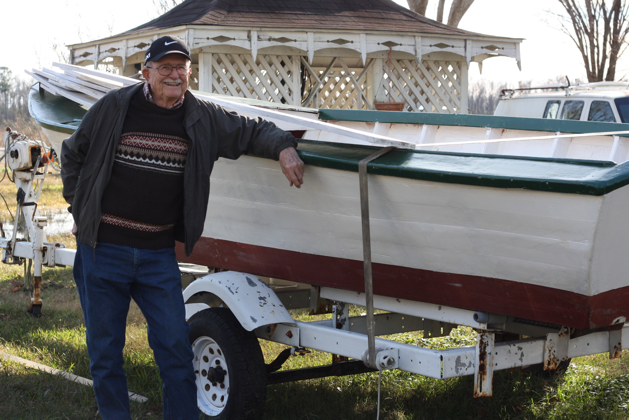 In A safe harbor, Al Schmitt of Engelhard talks about the ice plant there, the Hadeco, and boats from Hatteras seeking refuge