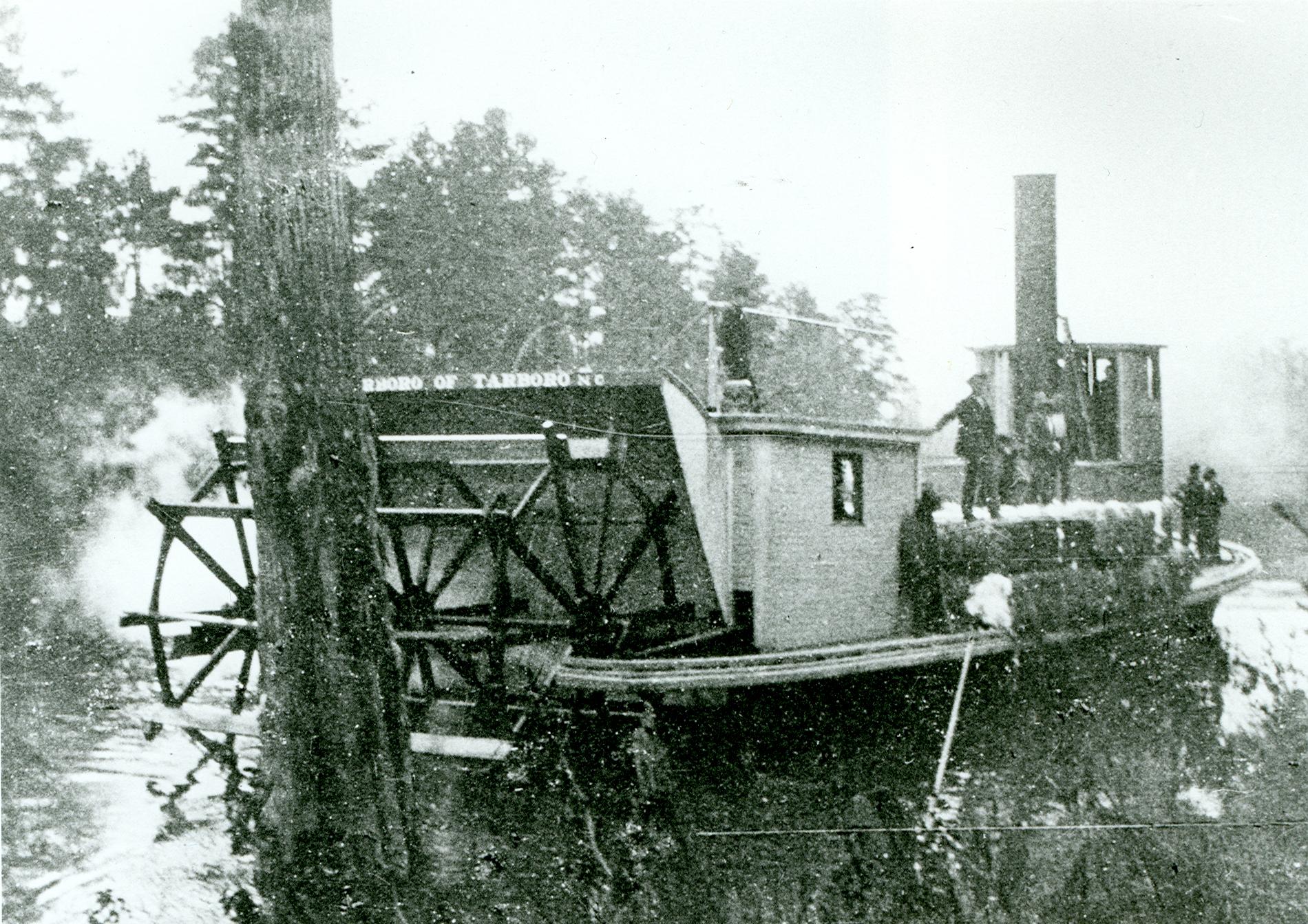 Steamboat on Tarboro