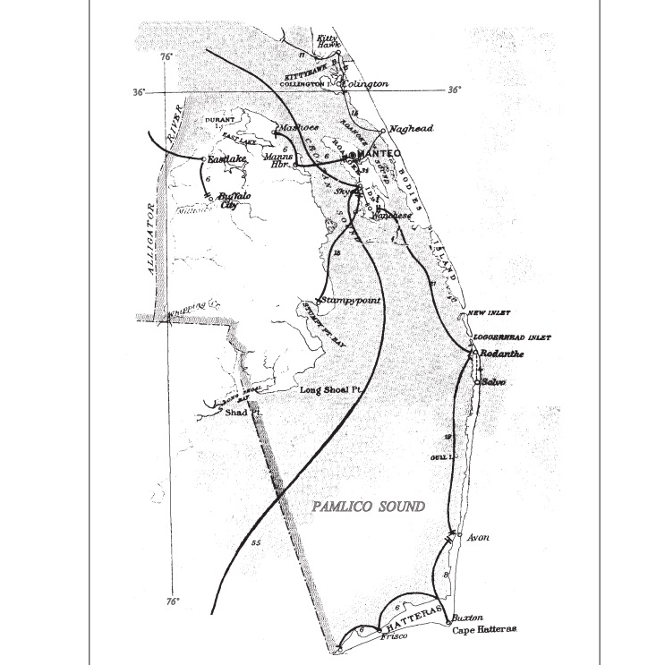Dare County Mailboat Routes