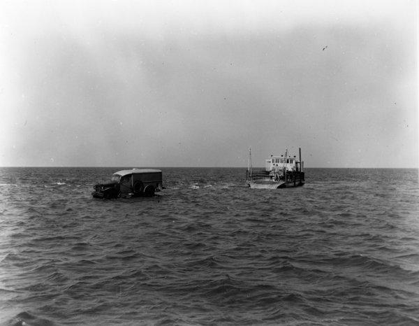Disembarking Frazier Peele
