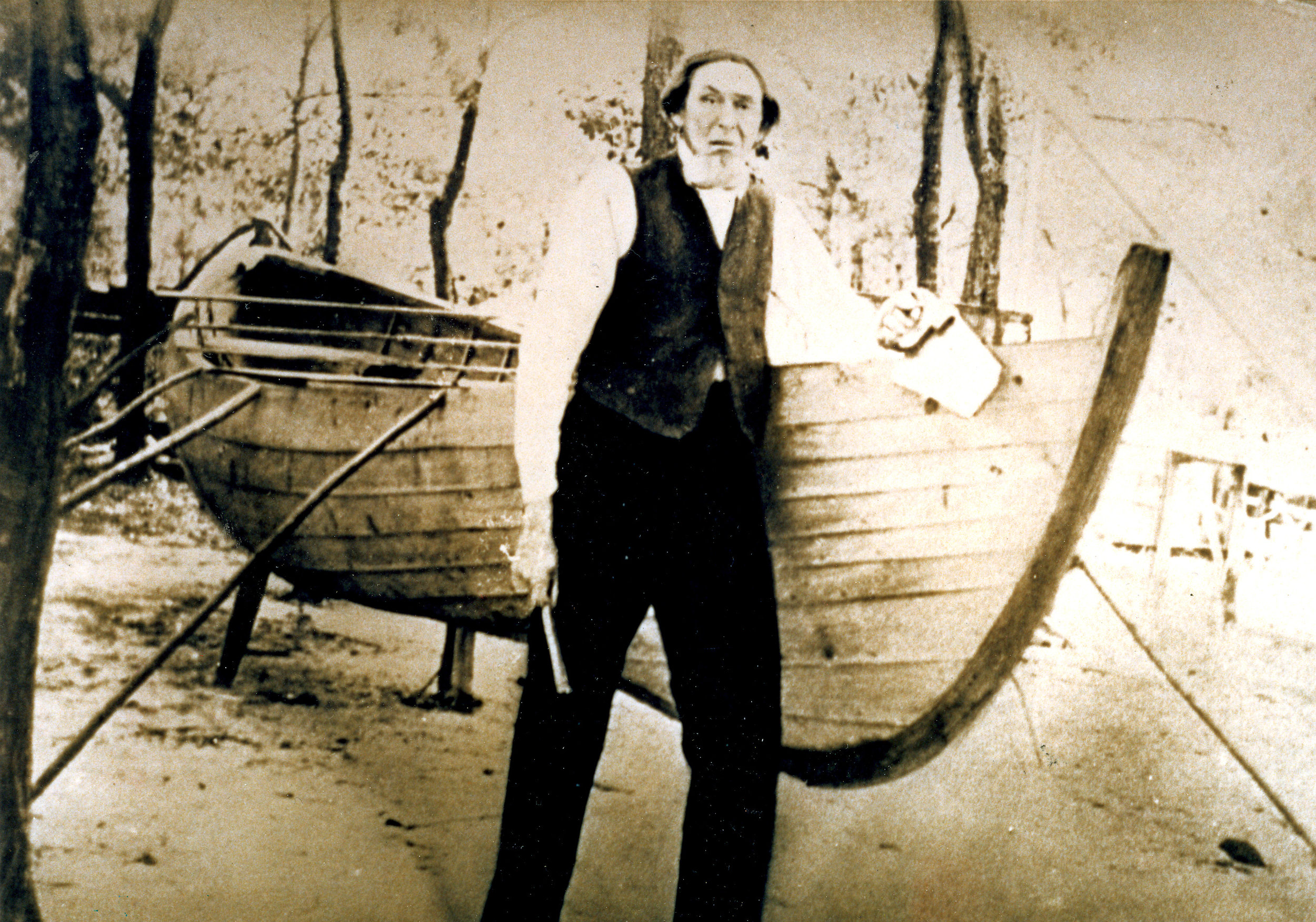 Devine Guthrie, Diamond City whaler, boatbuilder & preacher