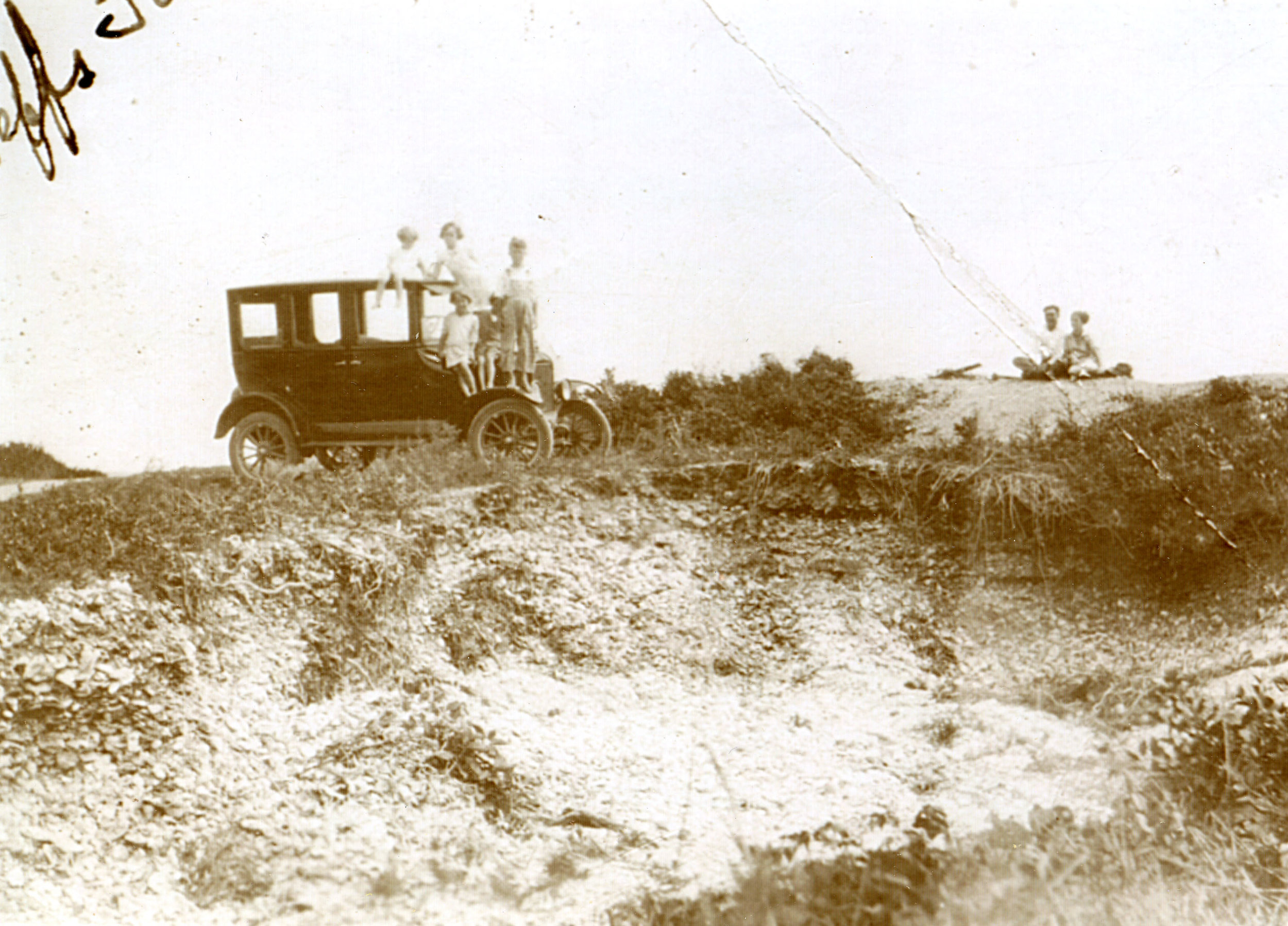Harkers Island shell middens, Shell Point 1915