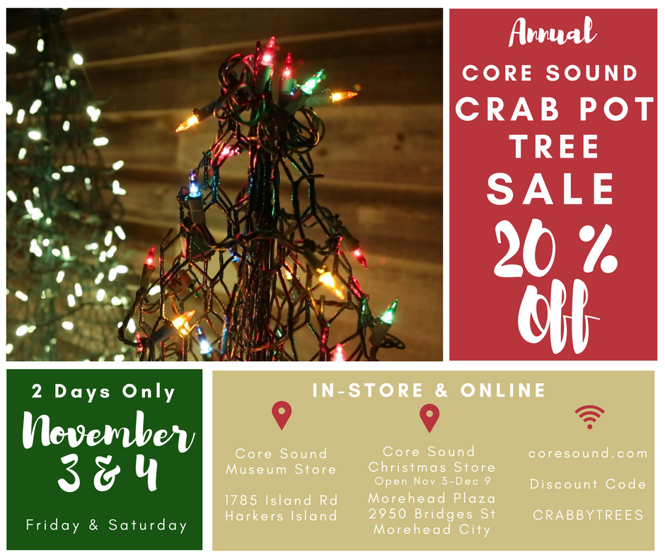 crab pot tree sale
