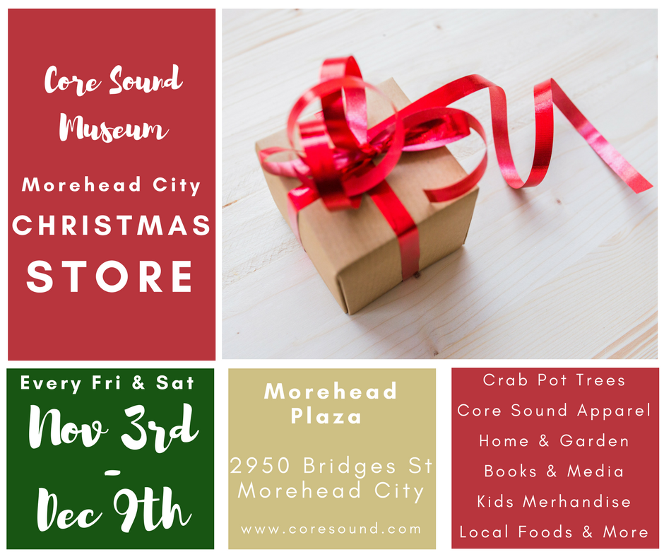 core sound morehead christmas store