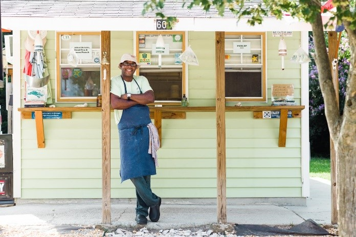 Founder and Chef Ricky Moore of Saltbox Seafood Joint in Durham will be the featured chef with a mix of old and new recipes!