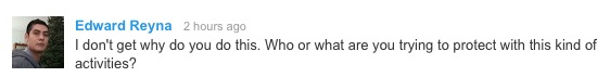 Asked via YouTube in the comment section of a JohnTV video on May 24, 2014.
